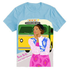 Women's Crewneck Rosa Parks Short Sleeve Trailblazer Tee