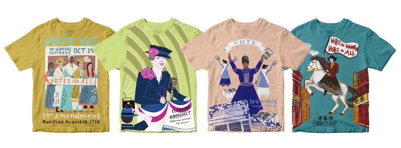 Suffrage Tees
