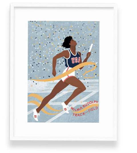 Wilma Rudolph Wall Art