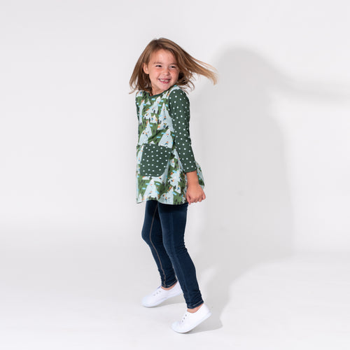 Camilla Long Sleeve Tunic - Mountain Climbing
