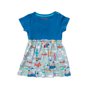 Isla Dress - Aviation