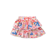 Load image into Gallery viewer, Ruffle Skirt - Geometry