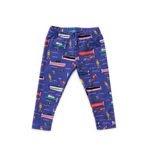 Load image into Gallery viewer, Cropped Leggings - Oceanography