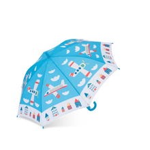 Load image into Gallery viewer, Printed Umbrella - Aviation
