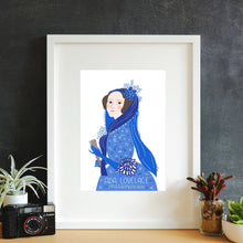 Load image into Gallery viewer, Ada Lovelace Framed Art Print