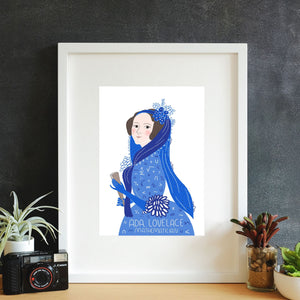 Ada Lovelace Framed Art Print
