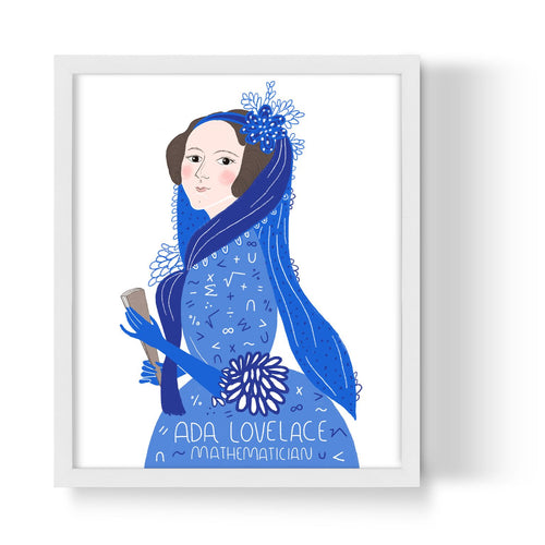Ada Lovelace Unframed Art Print