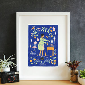 Alice Ball Framed Art Print