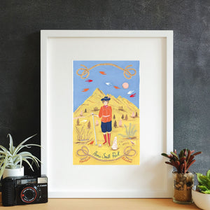 Annie Smith Peck Framed Art Print