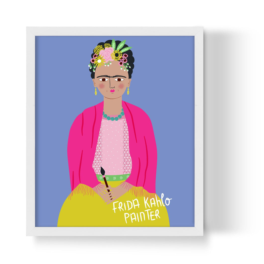 Frida Kahlo Unframed Art Print