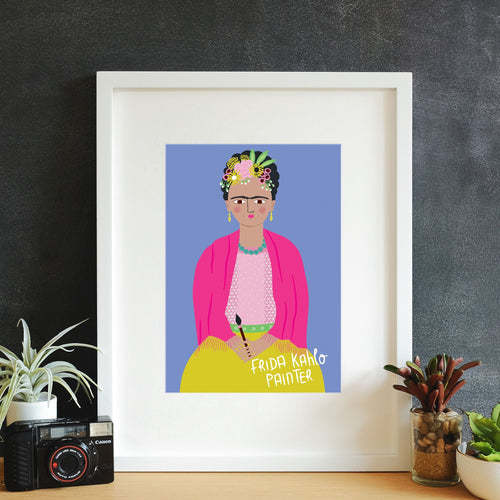 Frida Kahlo Framed Art Print