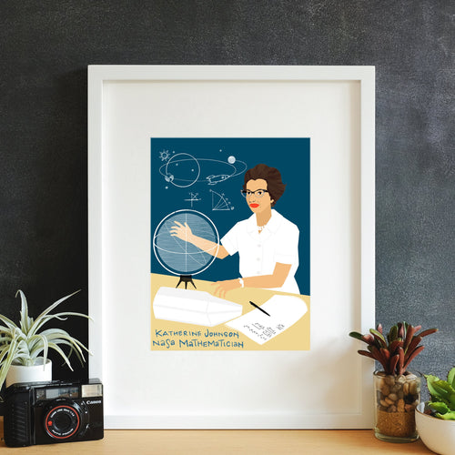Katherine Johnson Wall Art