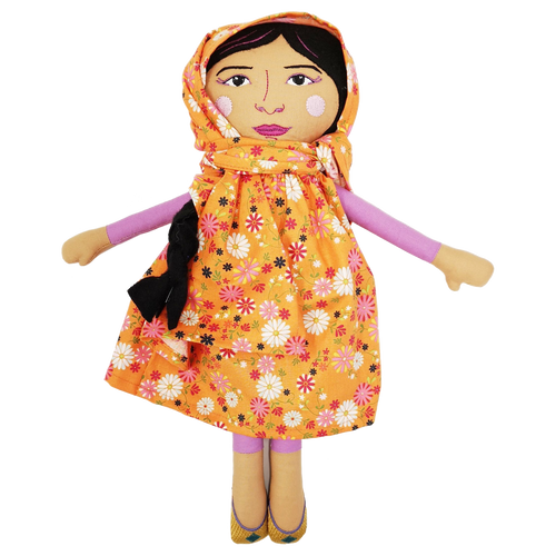 Collector's Edition Malala Yousafzai Trailblazer Doll