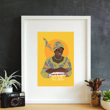 Load image into Gallery viewer, Maya Angelou Framed Art Print