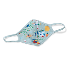Load image into Gallery viewer, Printed Cotton Face Mask - Aviation