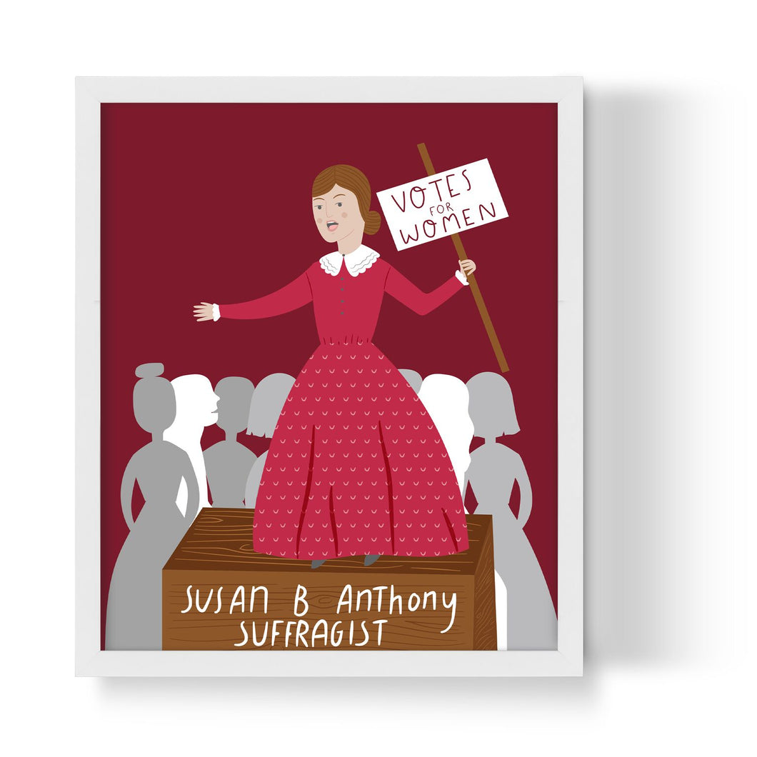 Susan B. Anthony Unframed Art Print