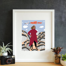 Load image into Gallery viewer, Zaha Hadid Framed Art Print