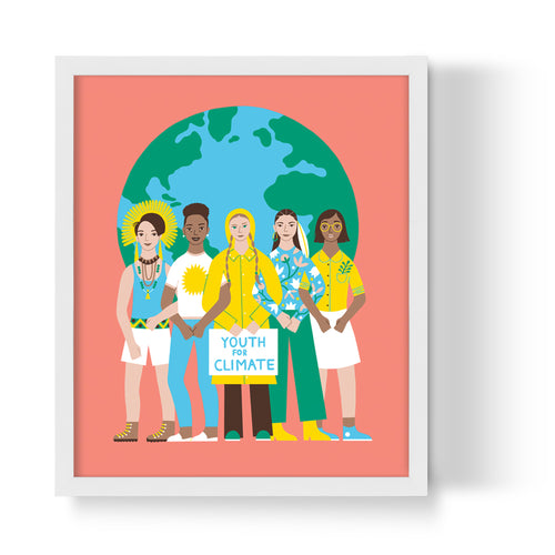 Earth Heroes Unframed Art Print