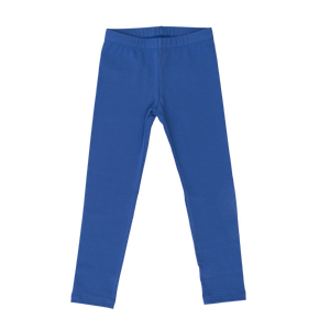 Cotton Leggings - Solid Cobalt