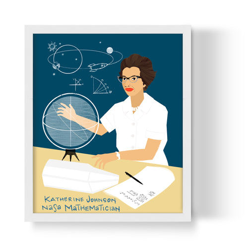 Katherine Johnson Unframed Art Print