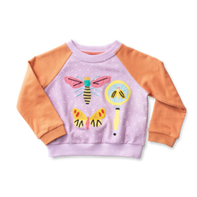 Load image into Gallery viewer, Raglan Applique Sweatshirt - Entomology