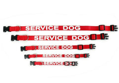 ALL ACCESS Service Dog Pet Animal Cat Dog Collar & Leash Support Access XS - XL