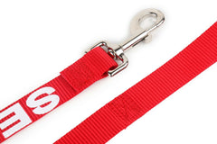 ALL ACCESS Service Dog LEASH w/ Neoprene Padded Handle Reflective, ADA Info Card