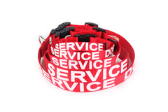 ALL ACCESS K-9 Service Dog - Emotional Support Animal Dog Collar and Tag XS L