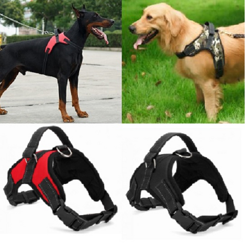 No Pull Adjustable Dog Pet Vest Harness Quality Nylon Small/Medium/Large/XL XXL