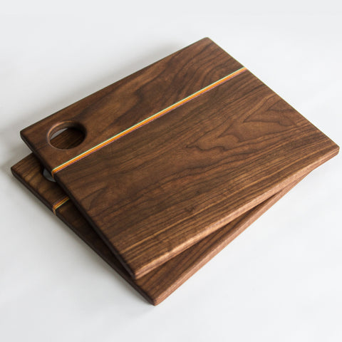 Walnut Desk Organizer