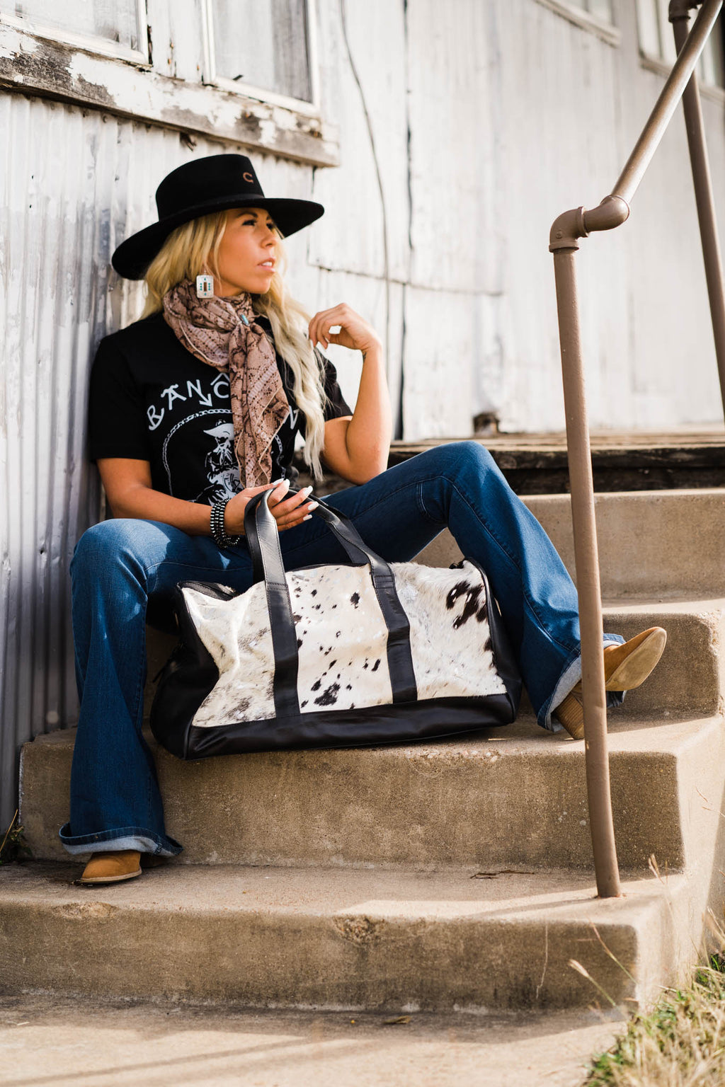 Travelin Cowgirl Duffle Bag