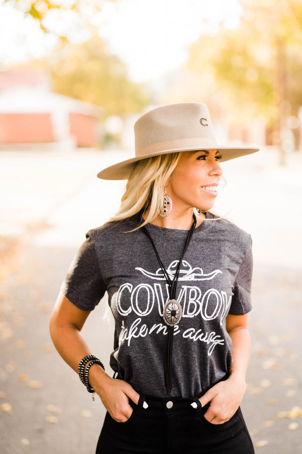 Cowboy Take Me Away T-Shirt