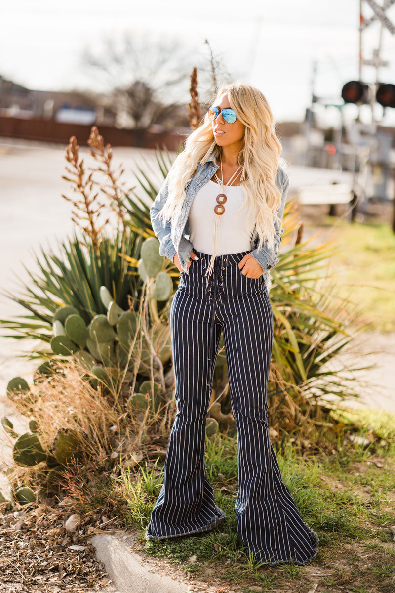 Striped Fringe Bell's