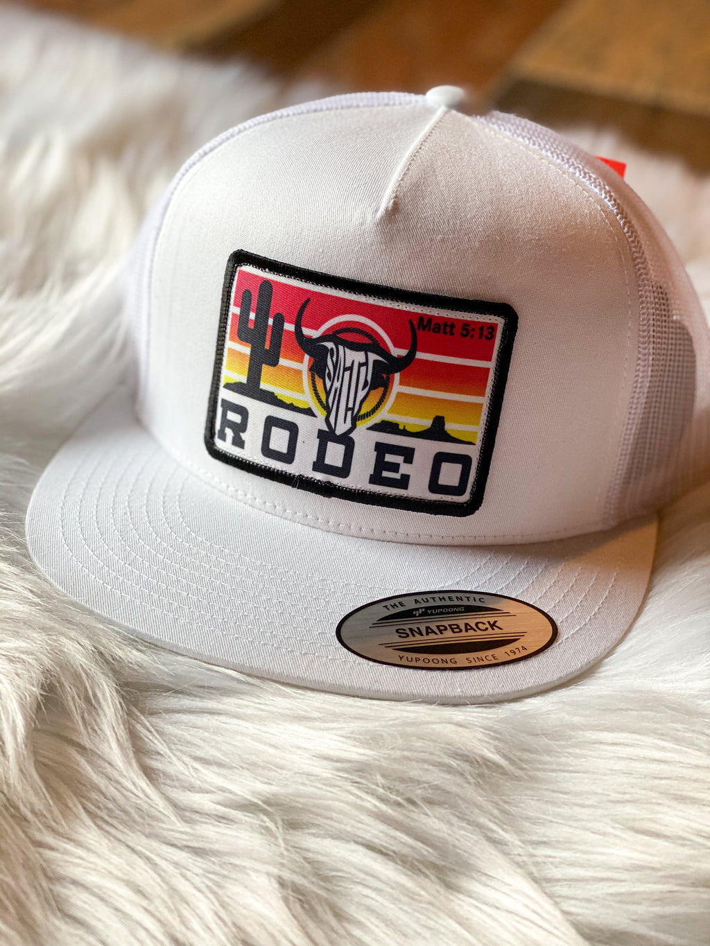Salty Rodeo SnapBack- The Pearl