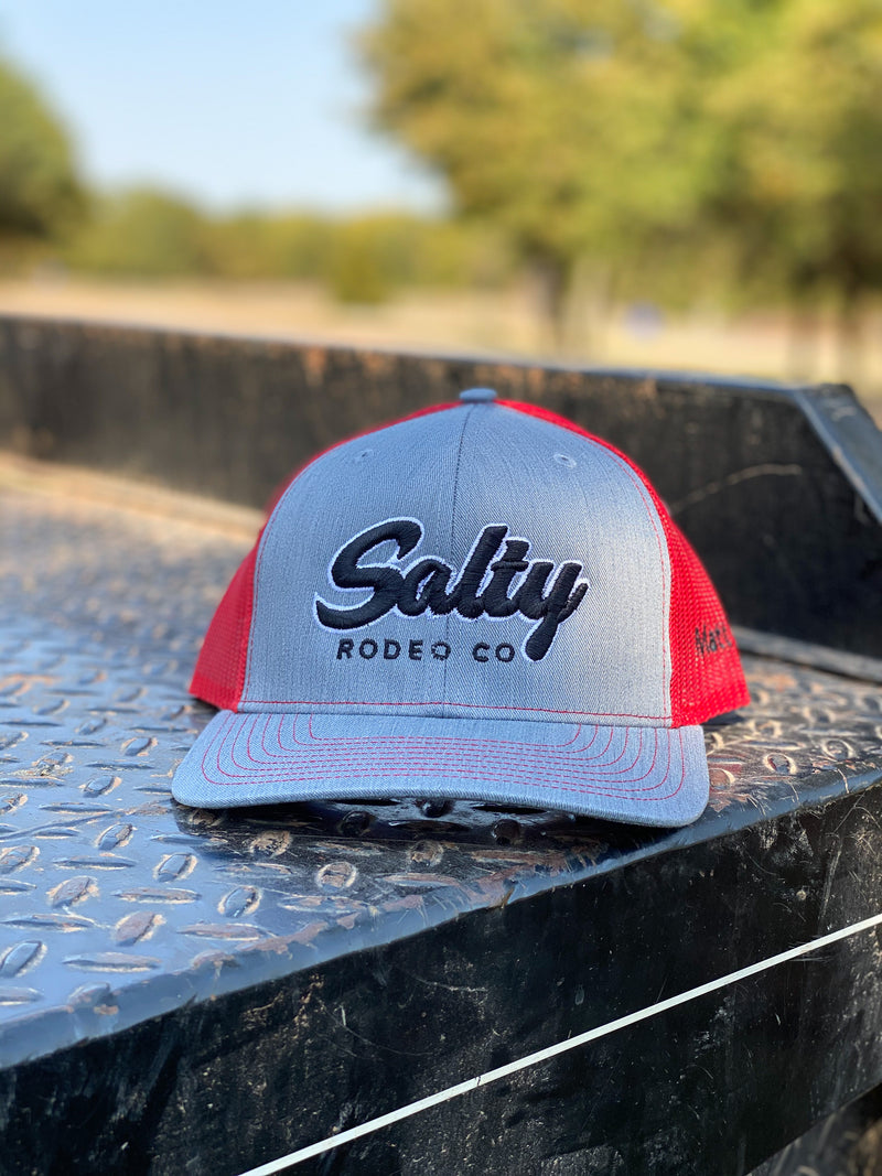 Salty Rodeo- Heather grey/ Red