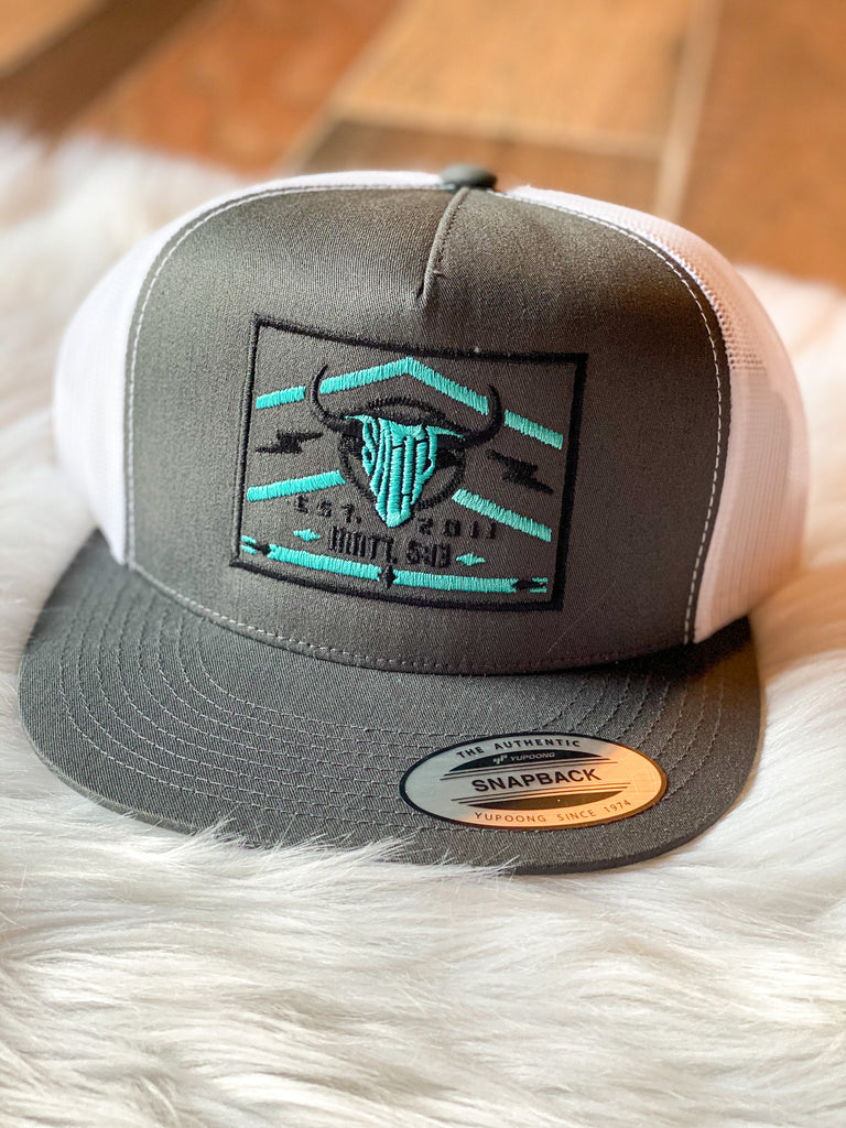 Salty Rodeo SnapBack- Turquoise Lighting