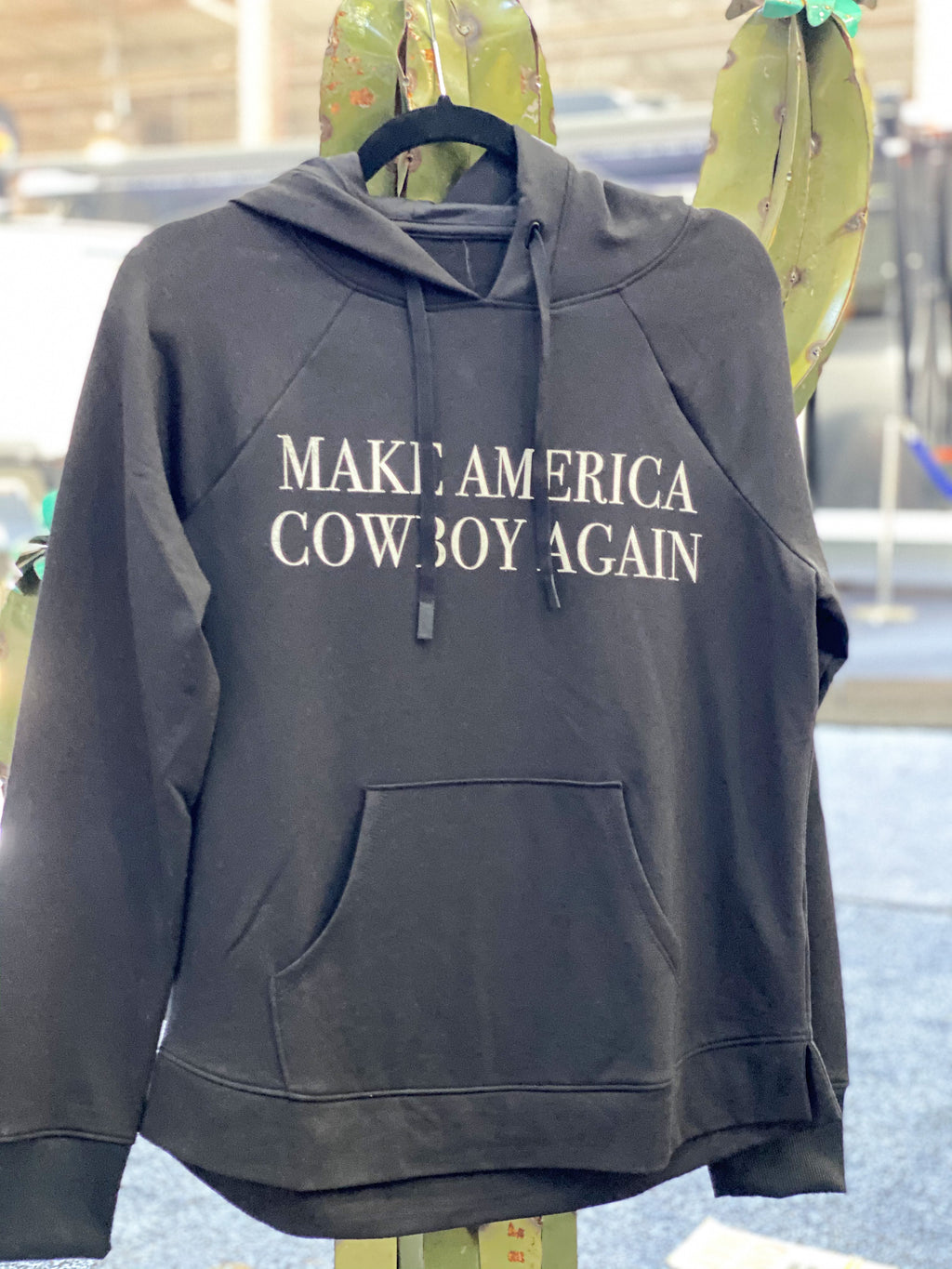 Make America Cowboy Again Pullover Sweater