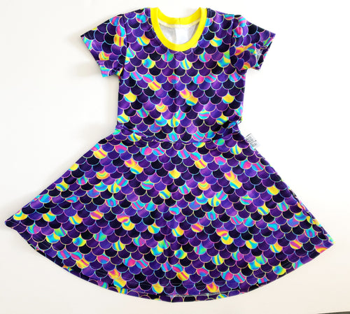 Scales dress