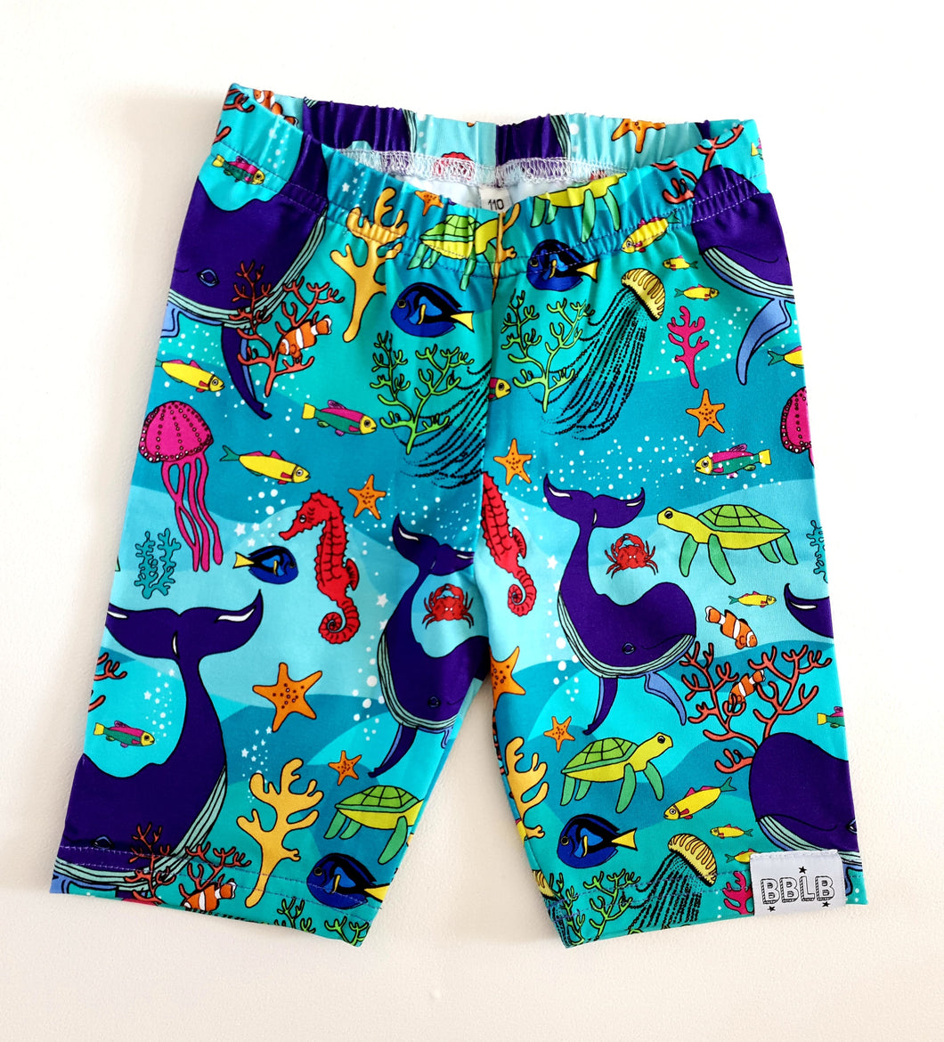 Under the sea above knee  shorts