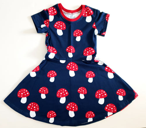 Toadstool dress