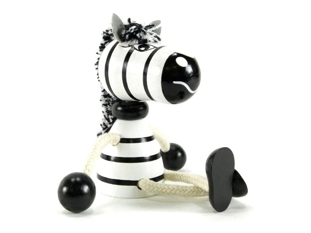 Wooden figure - Zebra