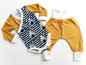 3-6m - zebra outfit