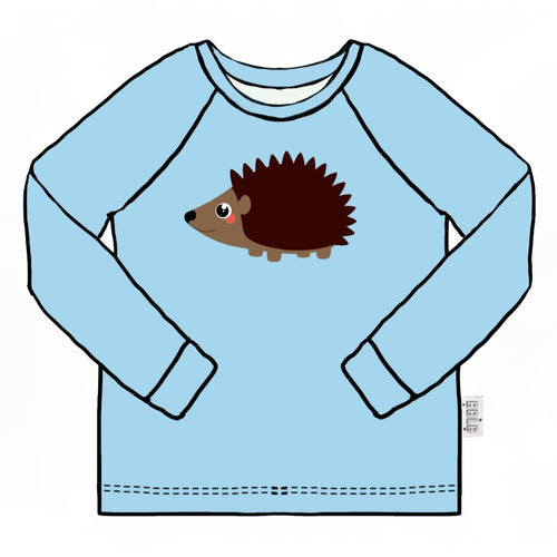 Hedgehog ling sleeve top