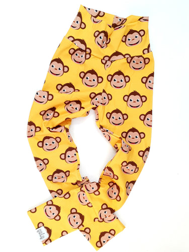 Monkey grow with me leggings