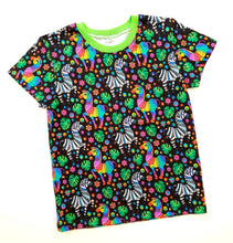 Load image into Gallery viewer, Rainbow zebra t-shirt