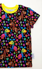 Load image into Gallery viewer, Rainbow dog t-shirt