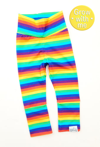 Rainbow birds match grown with me leggings