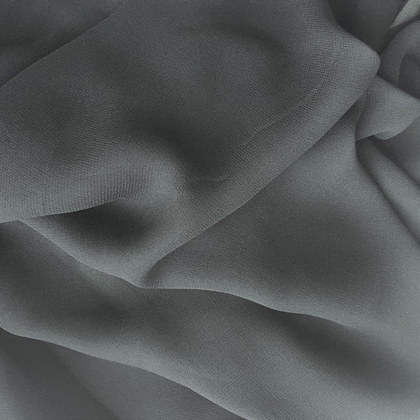 Viscose Georgette Black