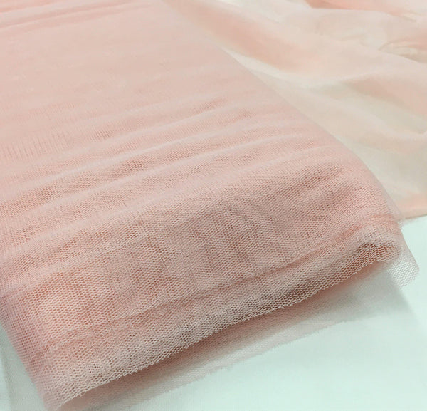 Silk Tulle Pale Pink