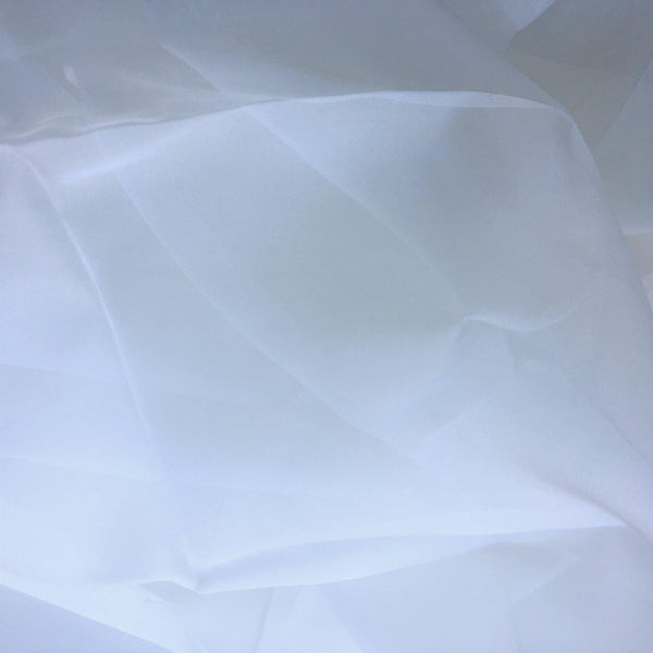 Organza Silk White